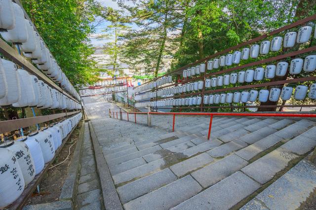吉備津神社の参道