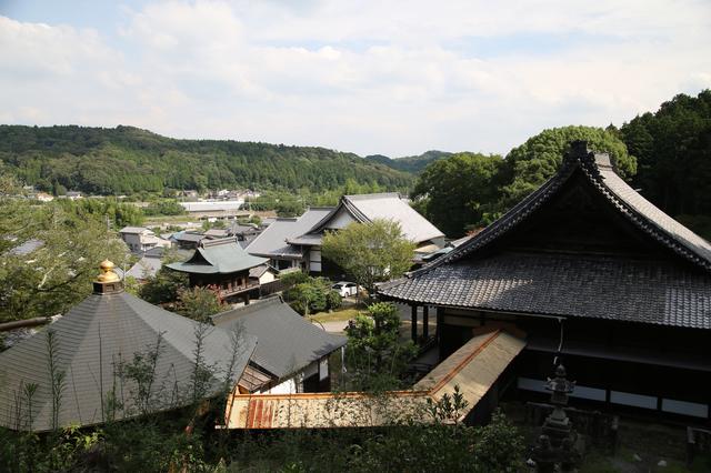 法蔵寺からの街並み