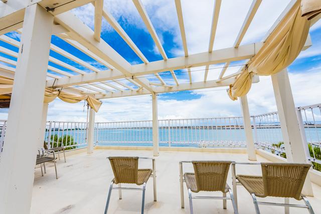 リゾート気分を満喫できる沖縄ウミカジテラス