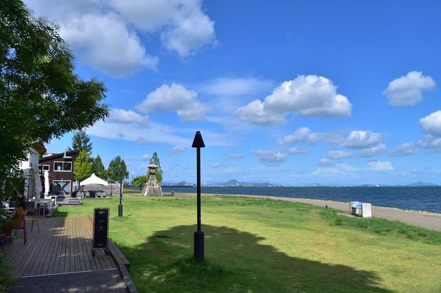 景観も素敵な大津湖岸なぎさ公園