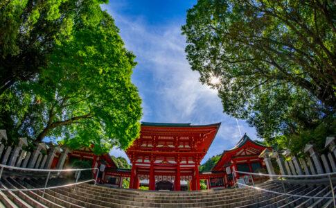 歴史を感じる大津・近江神宮
