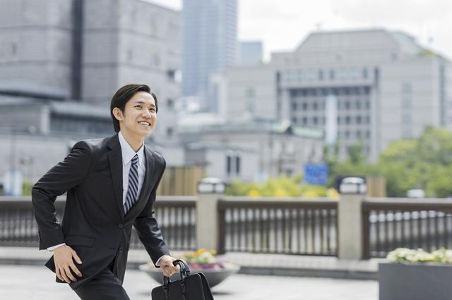東京で頑張るサラリーマン
