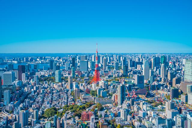 六本木ヒルズからの景色(東京タワー)