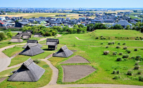 吉野ヶ里遺跡と吉野ヶ里歴史公園