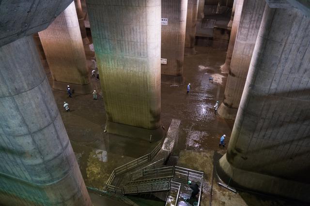 首都圏外郭放水路はまさに神殿