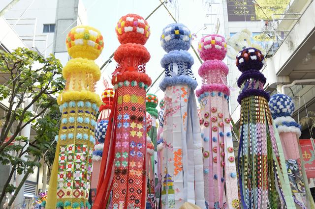 「仙台七夕祭り」に参加する