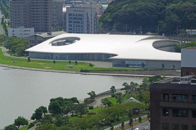島根県立美術館の全貌