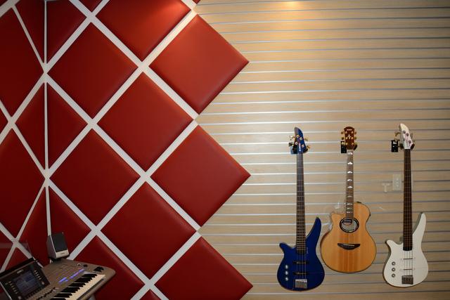 新宿の音楽スタジオ
