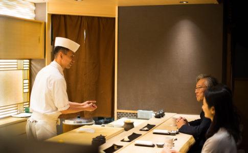 新宿の寿司屋