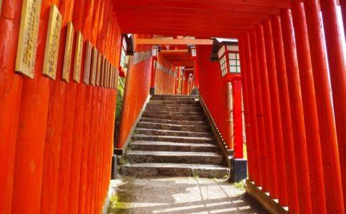 太皷谷稲成神社(島根)の千本鳥居