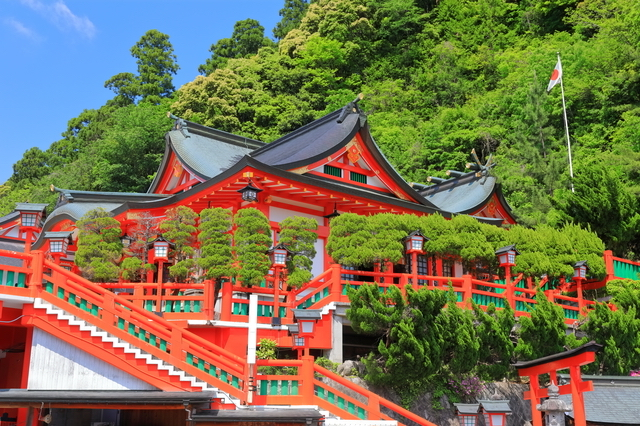 太皷谷稲成神社(島根)の神殿