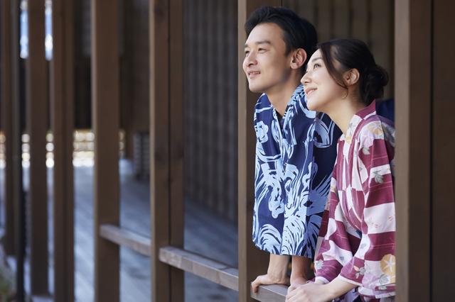 夫婦で静岡の温泉へ