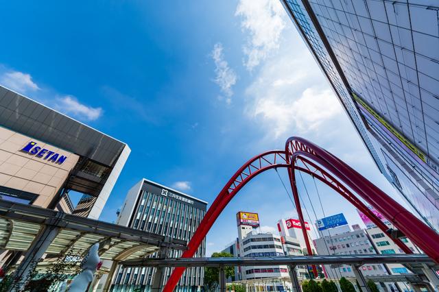 立川駅付近