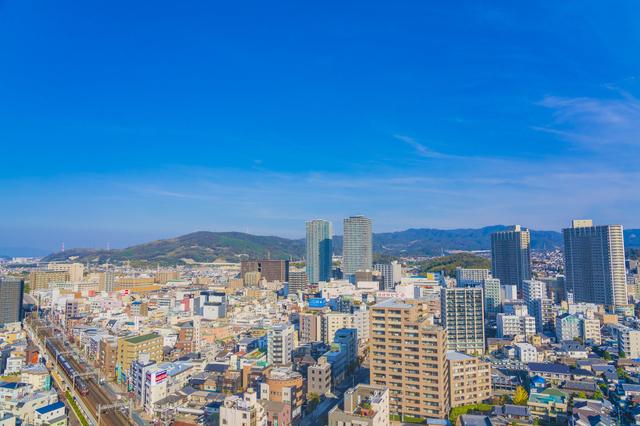 高槻の都市風景