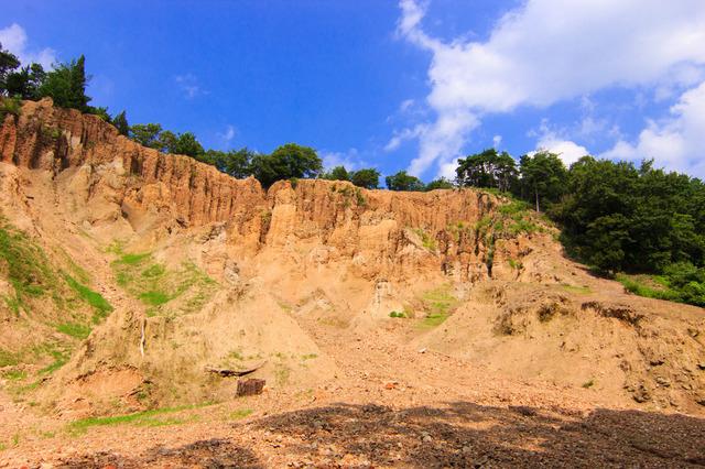 世界三大土柱の一つ阿波の土柱(徳島)