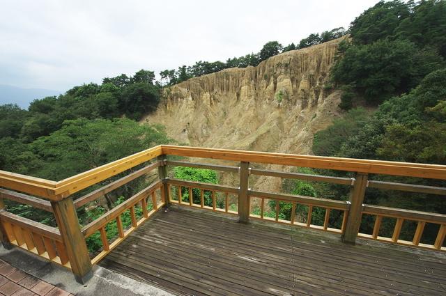 「阿波の土柱」を見渡せる場所