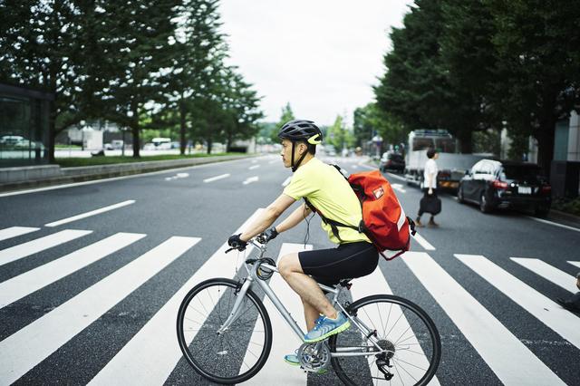 東京でクロスバイクに乗る