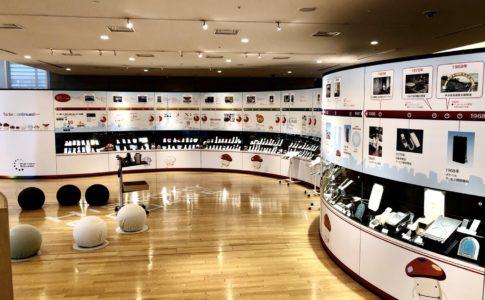 NTTドコモ歴史展示スクエア(室内)