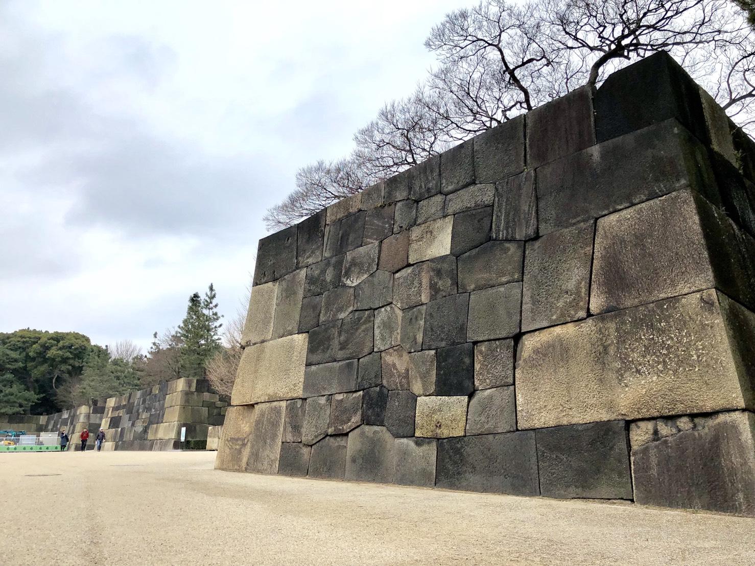 江戸城・石垣