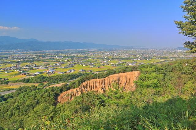 阿波の土柱(徳島平野)