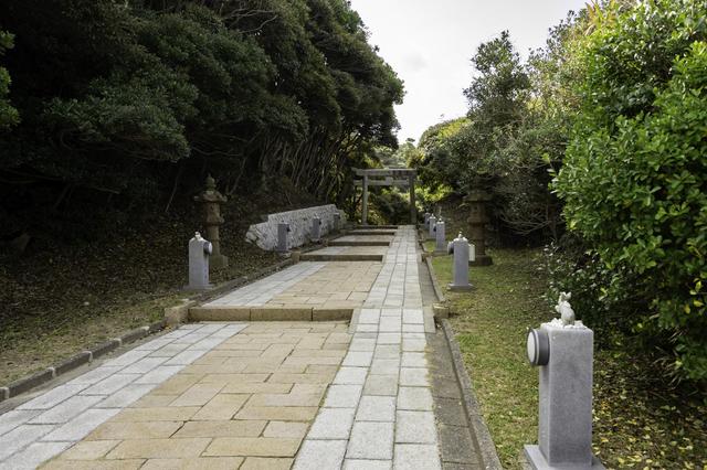 参道(鳥取・白兎神社)