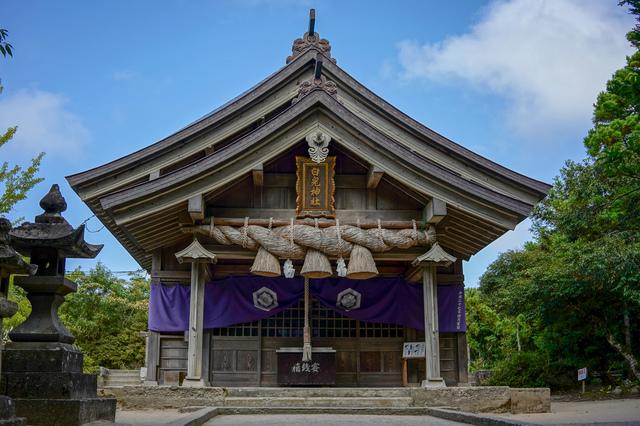 鳥取・白兎神社(拝殿)