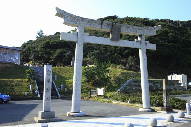 大鳥居(白兎神社・鳥取)