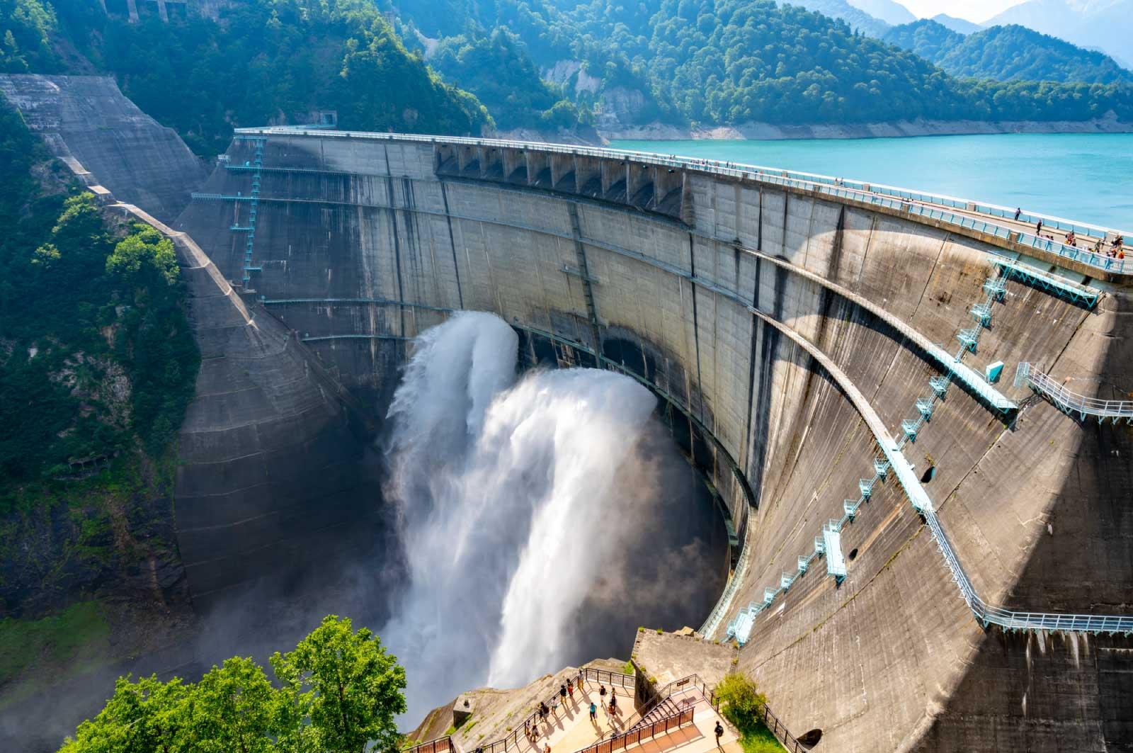 日本を代表するほどの規模と知名度を持っているダム