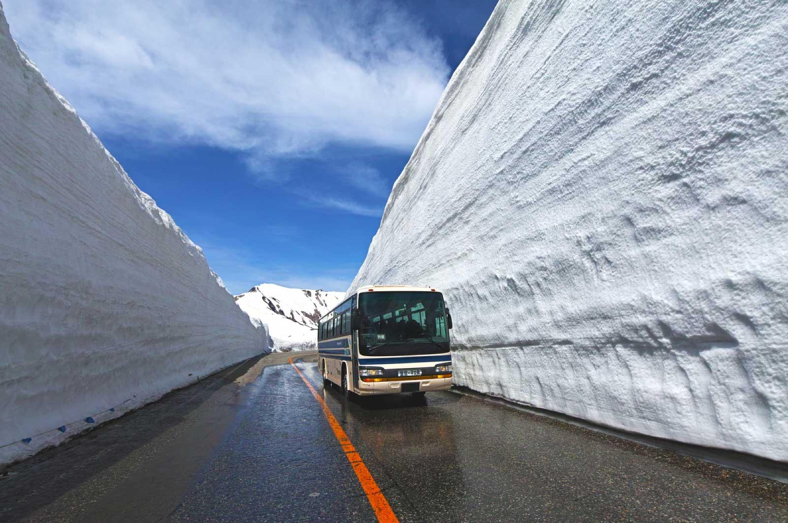 富山で大自然を堪能