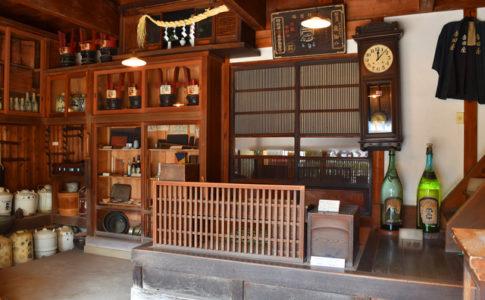 下町風俗資料館付設展示場の内部