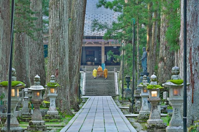 金剛峯寺(奥の院)