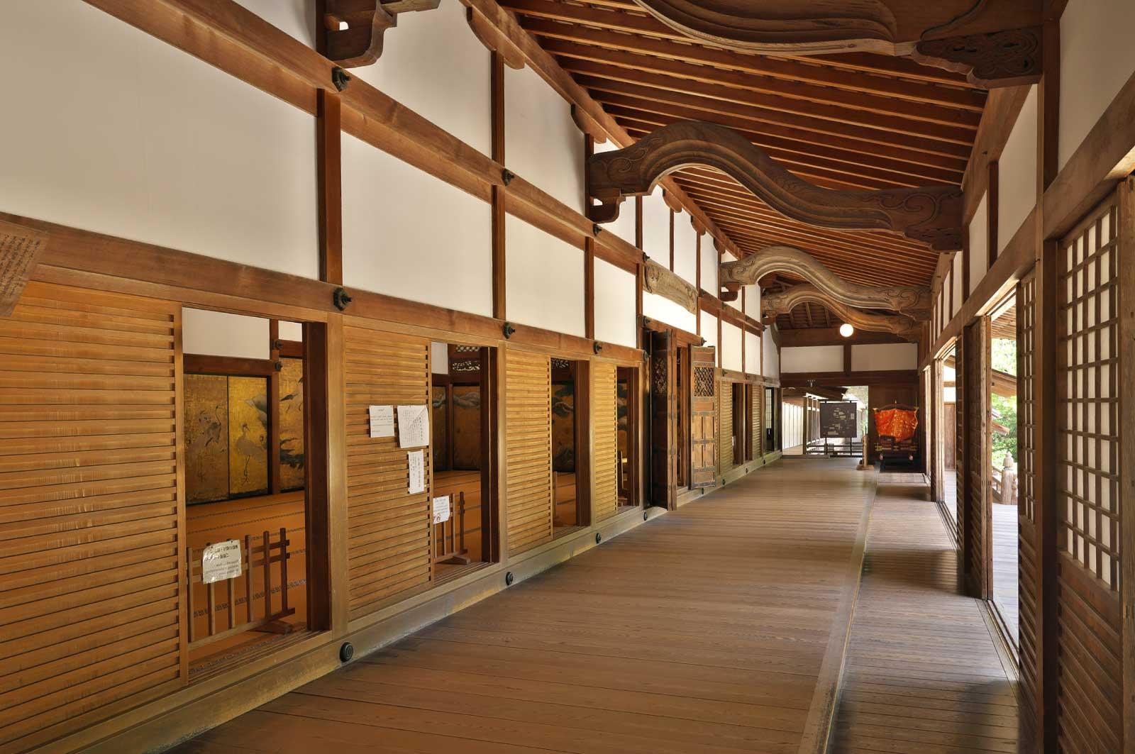 金剛峯寺のお堂(内部)