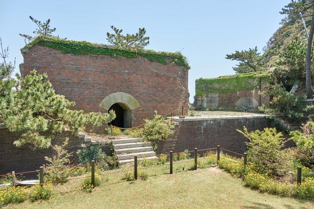 和歌山・沖ノ島の砲台跡