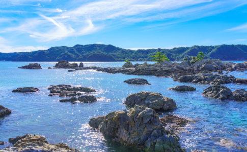 和歌山・那智勝浦の浜辺