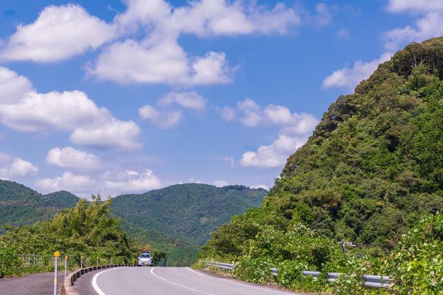 山口県ののどかな道