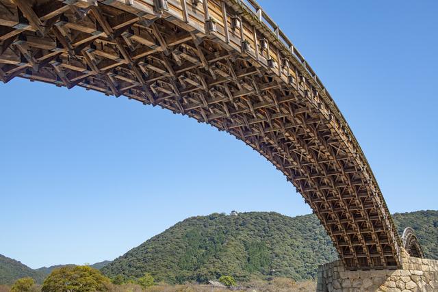 木造橋「錦帯橋」