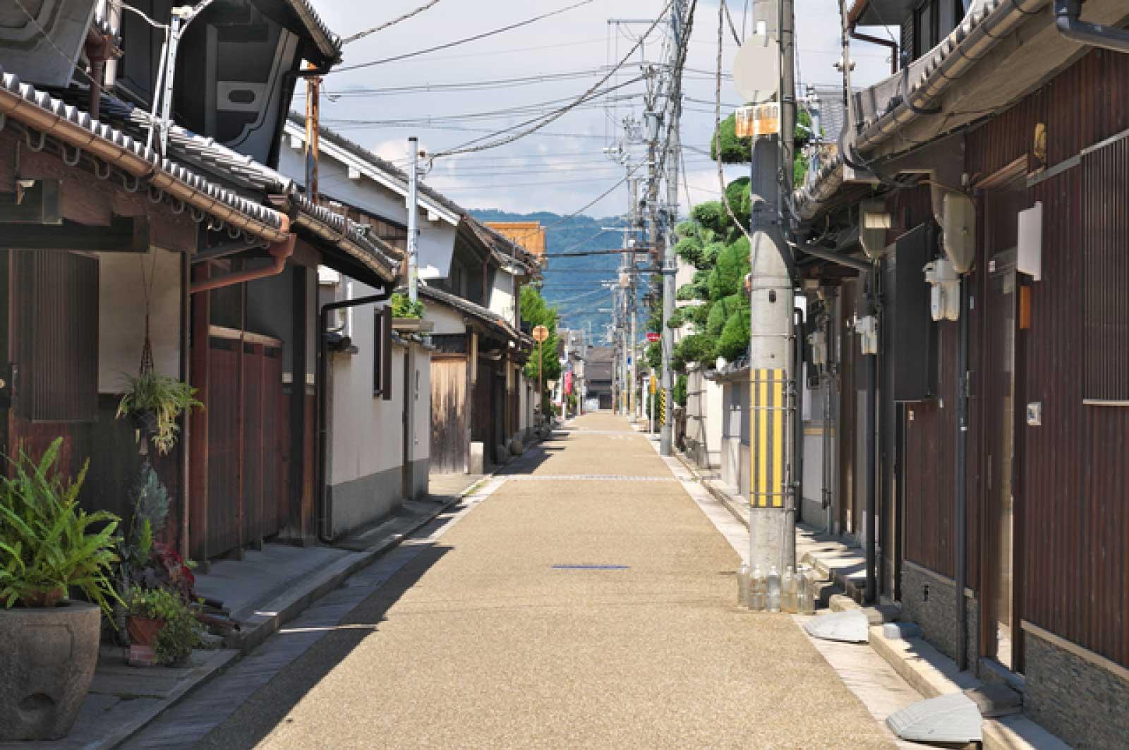 歴史ある風景・八尾市久宝寺