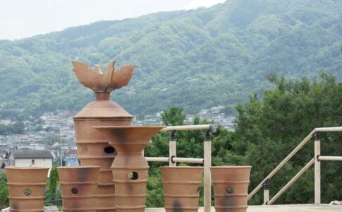 心合寺山古墳にある円筒埴輪