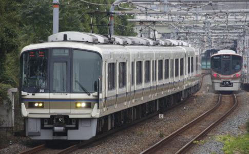 大和路線で八尾駅へ