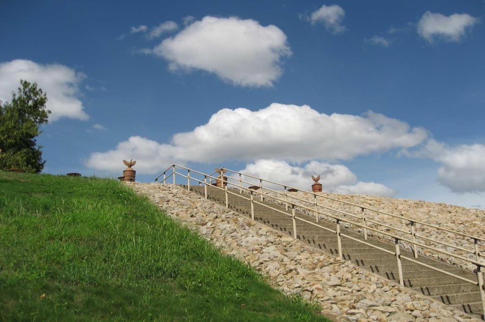 1966年には国の指定遺跡となった「心合寺山古墳」