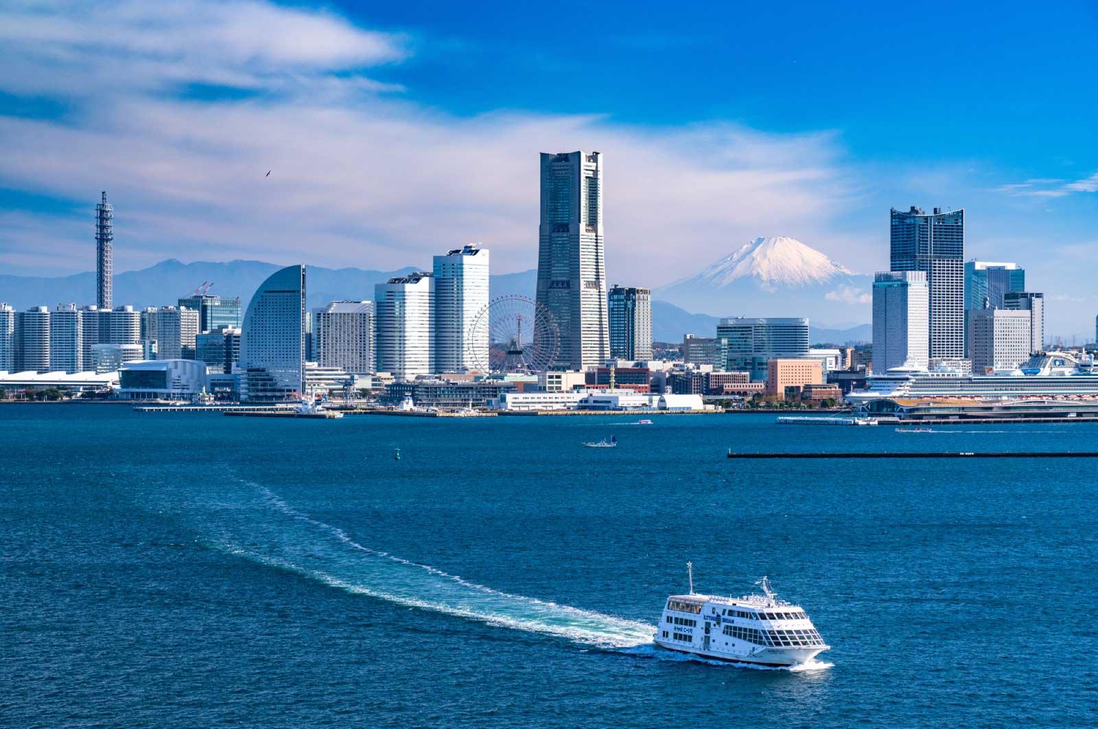 横浜なんかは神戸とかなり雰囲気が近くて、落ち着く
