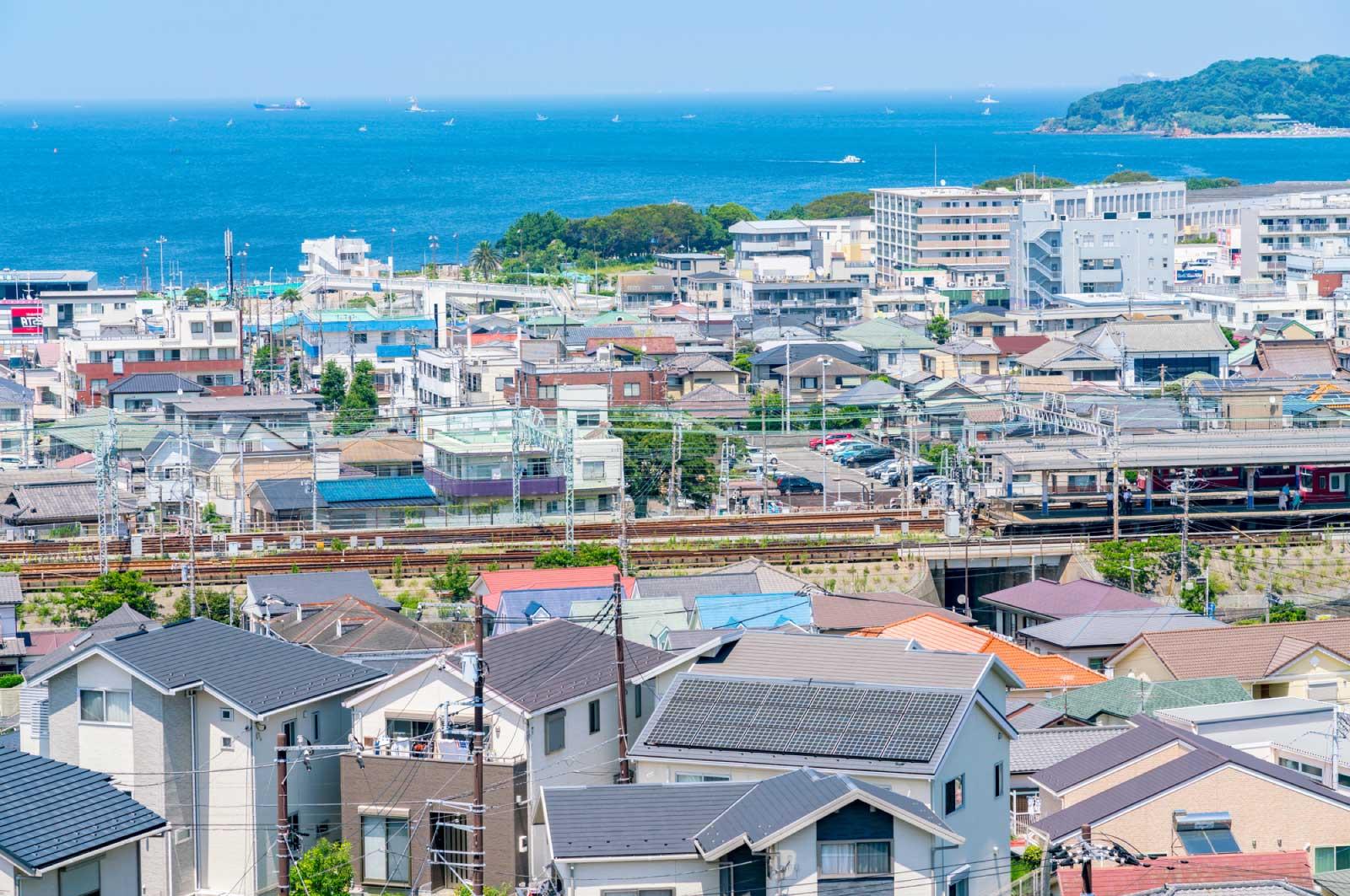 結婚してから横須賀に住み始めた