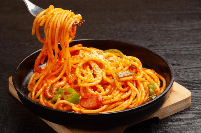 スパゲッティ・アマトリチャーナに近いお料理