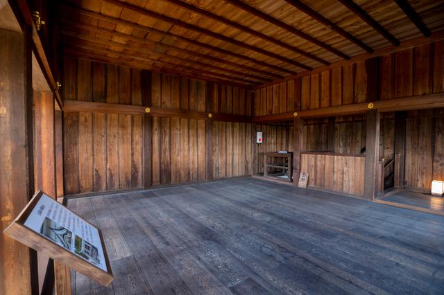 名古屋城・西南隅櫓の内部