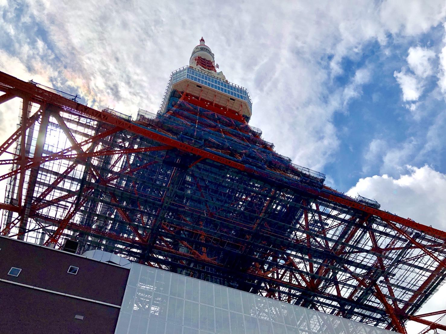 色鮮やかな東京タワー