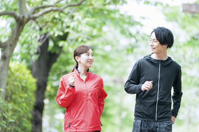 ジョギングで恋人作り