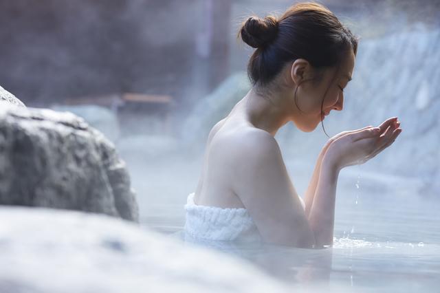 ひとり旅で温泉