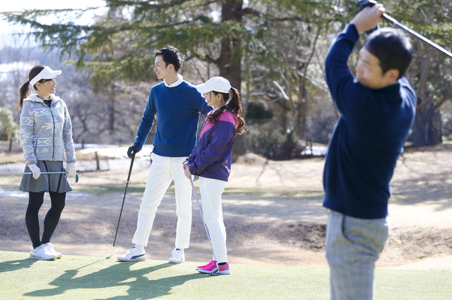 ゴルフが男女の出会いの場になる