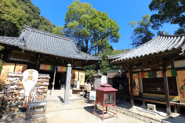 石手寺(大師堂と一切経堂)
