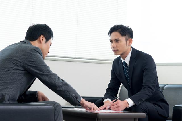 企業向けの営業職
